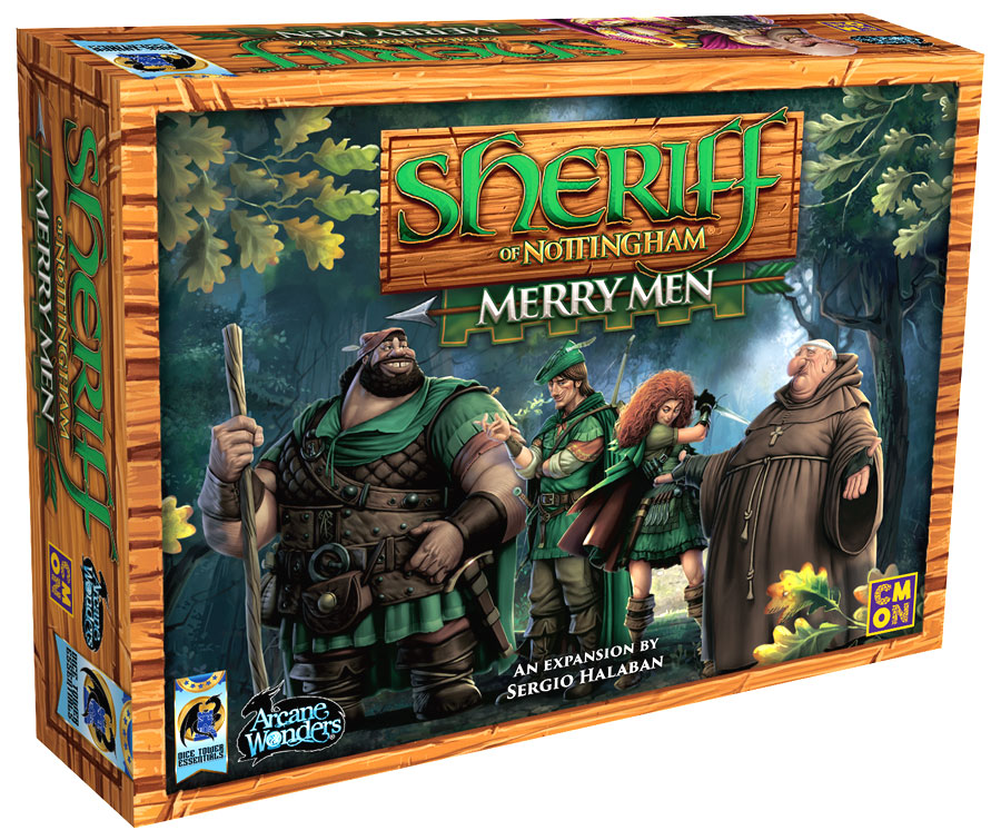 GTM #210 - Sheriff of Nottingham: Merry Men Expansion