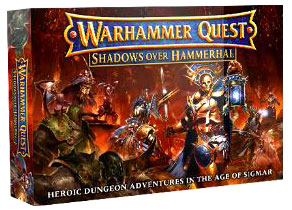 GTM #212 - Warhammer Quest: Shadows Over Hammerhal Board Game