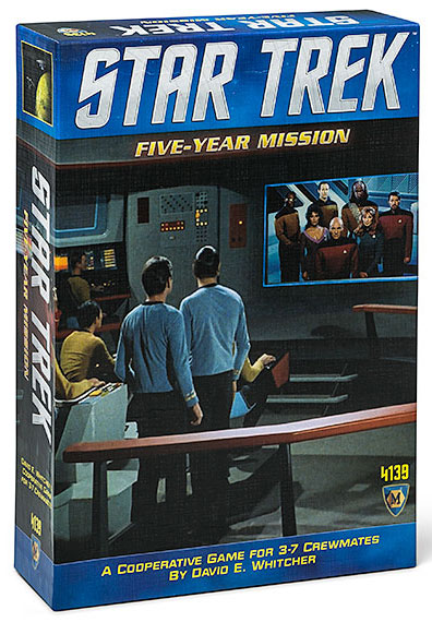 "GTM #213 - Star Trek: Five-Year Mission - ""From the Tabletop to TableTop"""