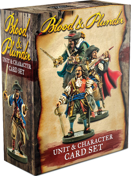 GTM #214 - Blood & Plunder: Unit & Character Cards