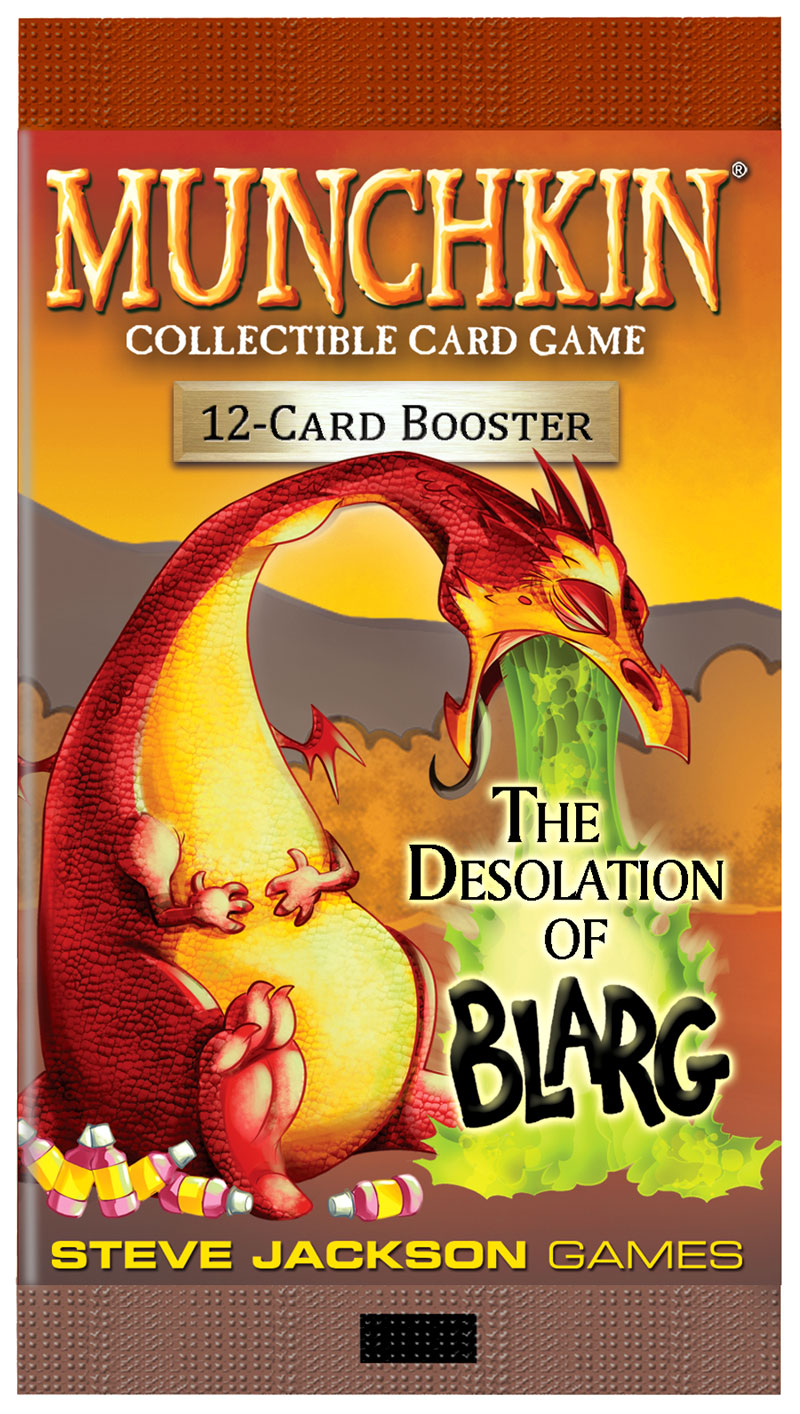 GTM #215 - Munchkin Collectible Card Game: The Desolation of Blarg