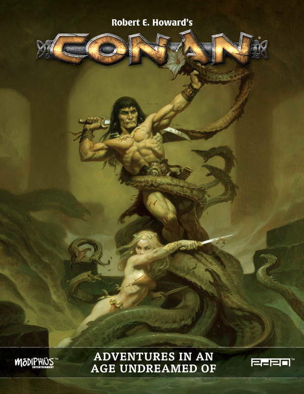 GTM #218 - Conan RPG: Adventures in an Age Undreamed Of