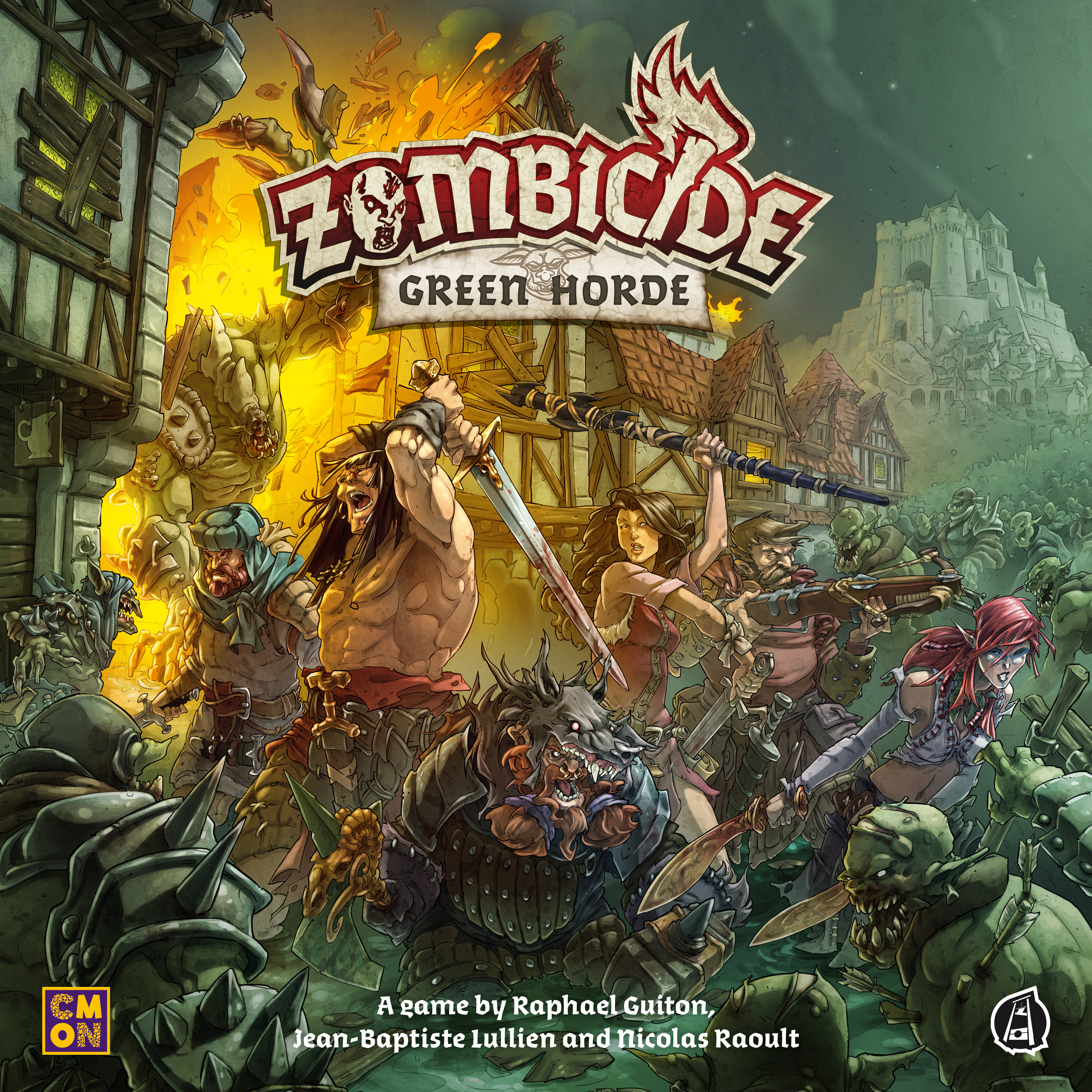 GTM #219 - Zombicide: Green Horde: Emerald Waves of Undead