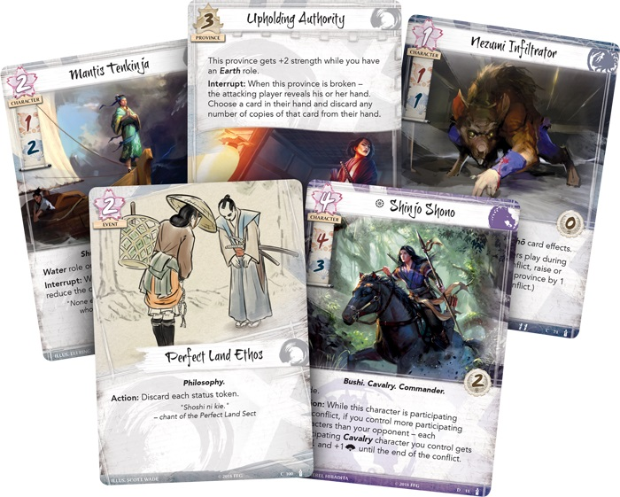 GTM #220 - Legend of the Five Rings LCG Elemental Cycle Dynasty Packs